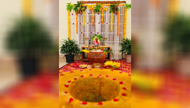 Balakrishna decorations