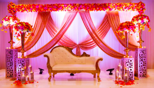 Shavani flower Decorations