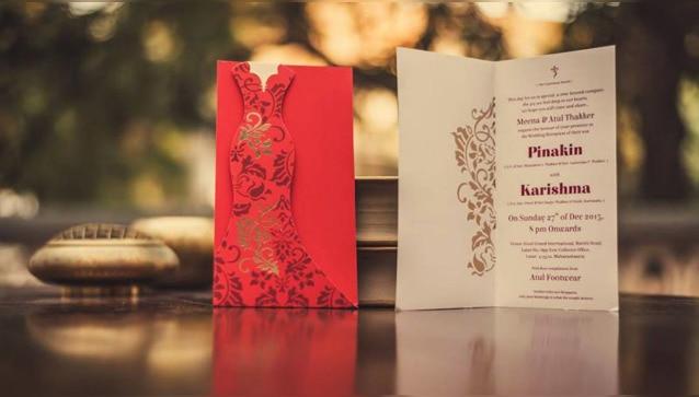 Nimantran Designer Wedding Card