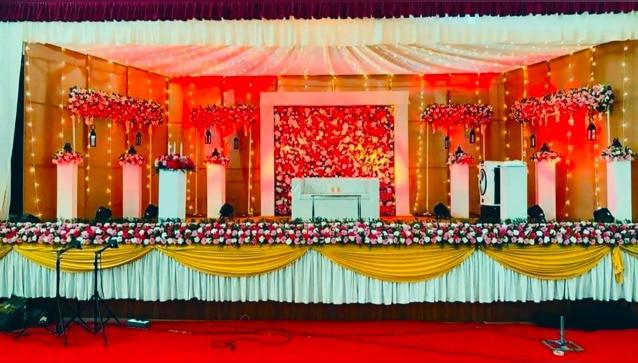 Bridal Stage Decoration